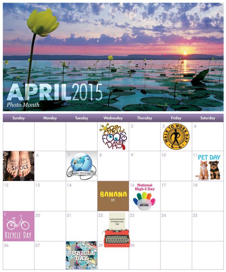 April Fun Workplace Holiday Calendar Italy Pinterest Holiday