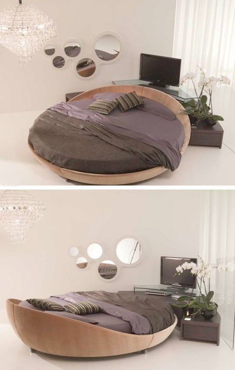 Round Beds, Round Mattresses U0026 Round Sleeper Sofas