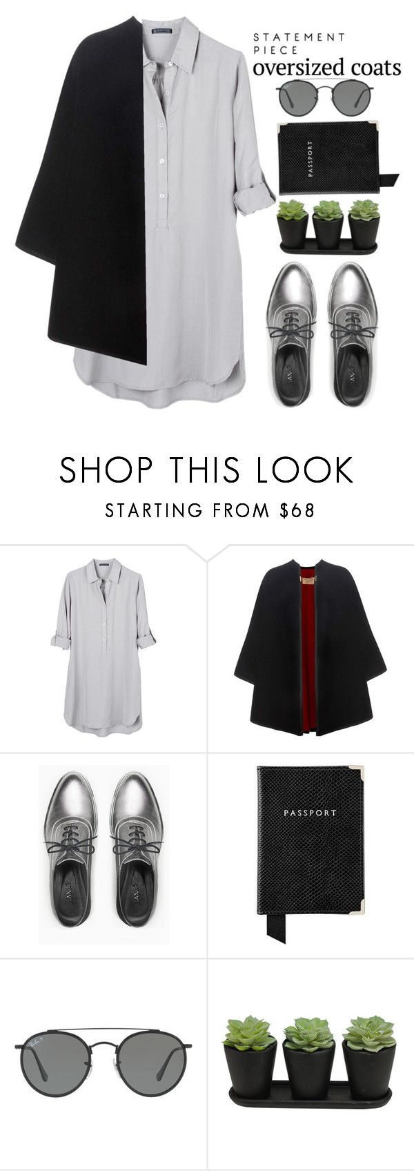"""""""Untitled #37"""" by azbie ❤ liked on Polyvore featuring United by Blue, Burberry, Max&Co., Aspinal of London and Ray-Ban"""