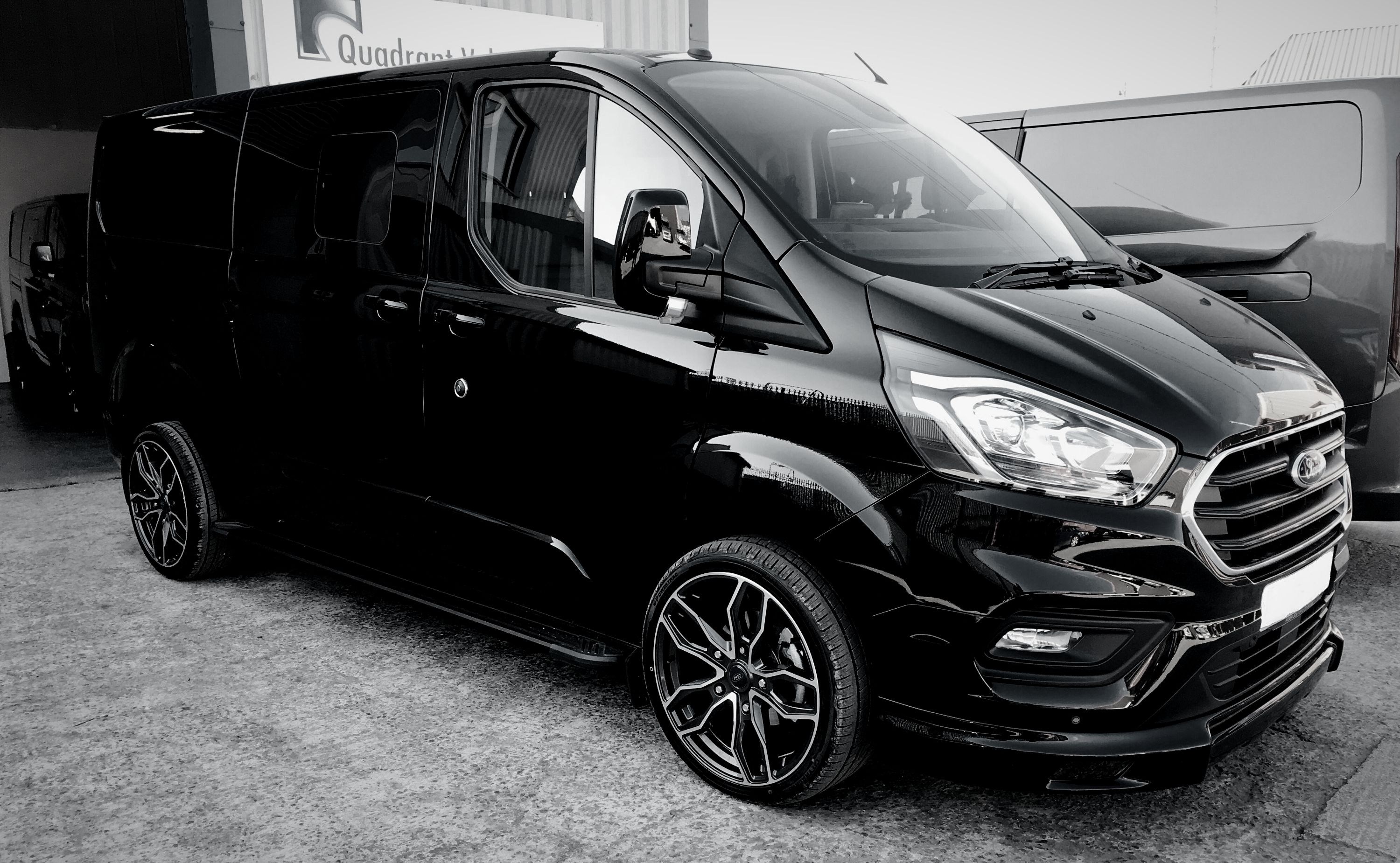 Transit Custom With Images Transit Custom Van For Sale Ford