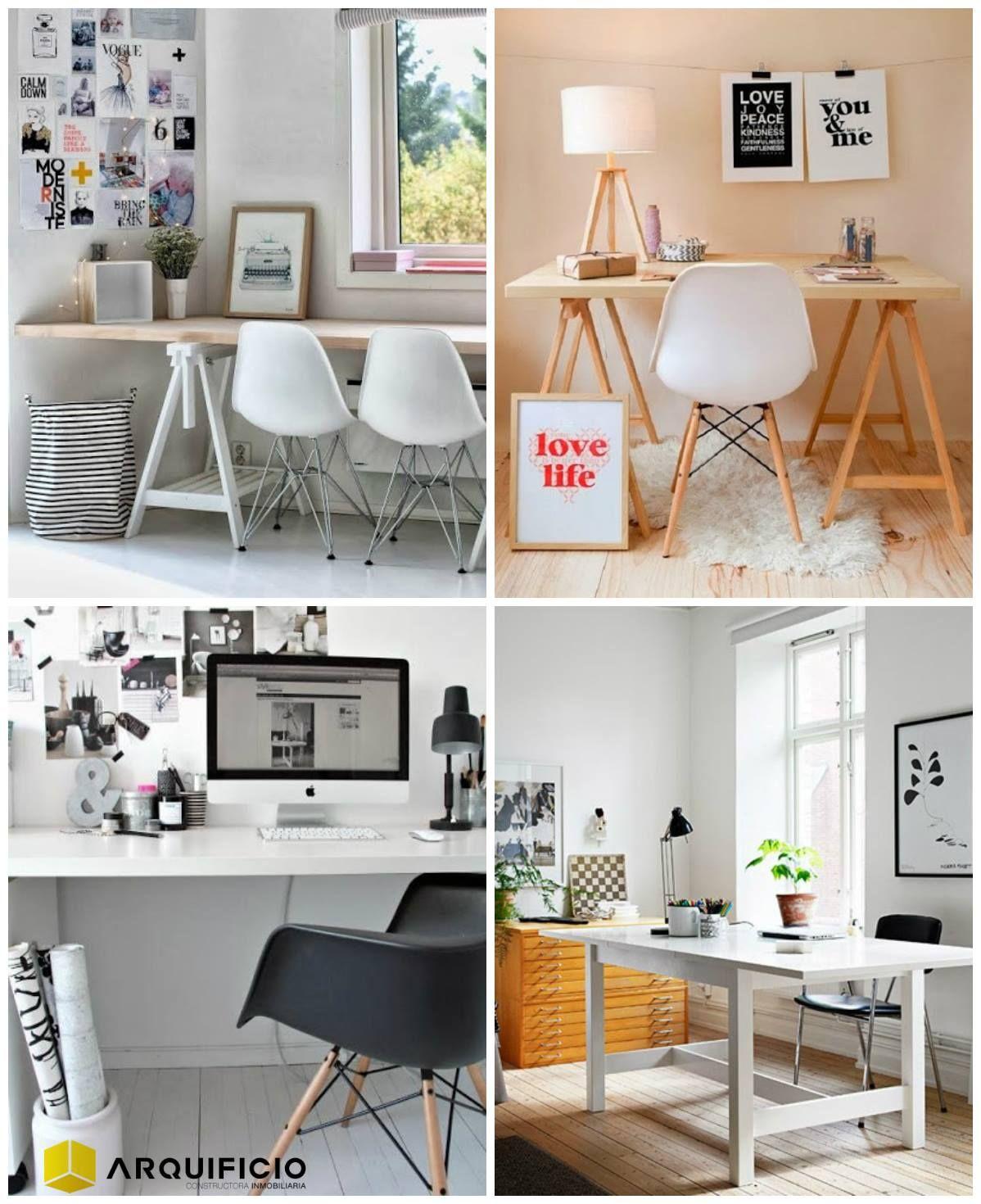 escritorios pequeos espacios grandes ideas