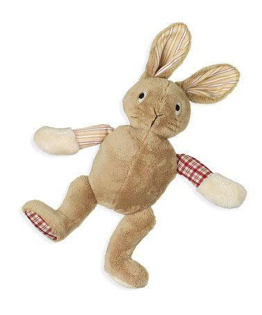 Beige Silly Old Rabbit™ Plush Toy #zulily #zulilyfinds