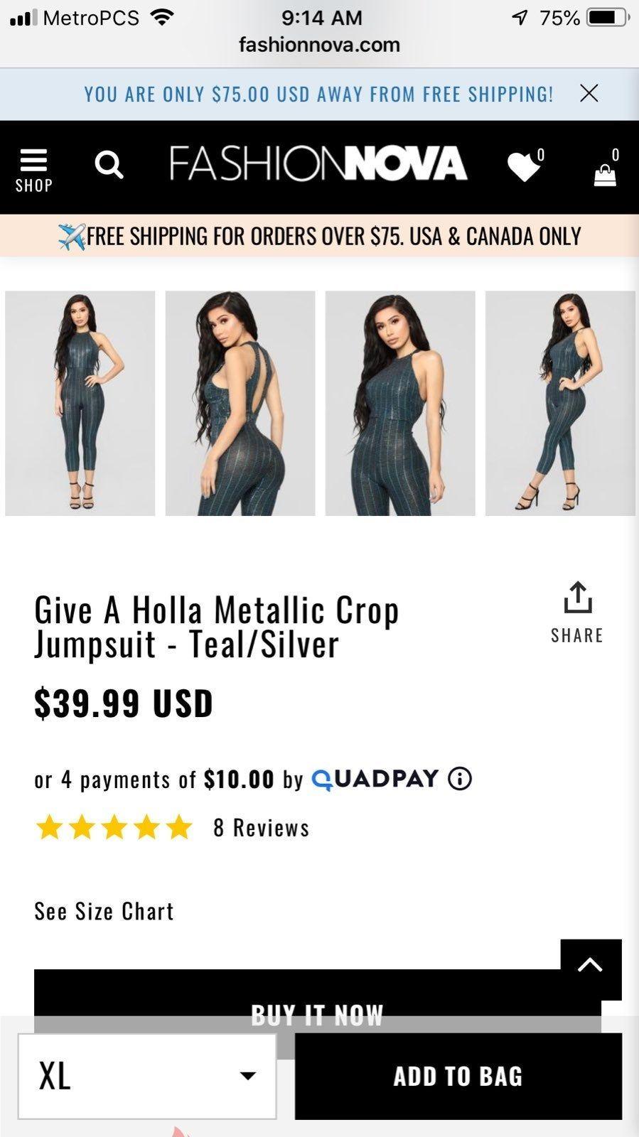 New Never Worn Fits L Xl Fashion Nova Jumpsuit Fashion Nova Jumpsuit