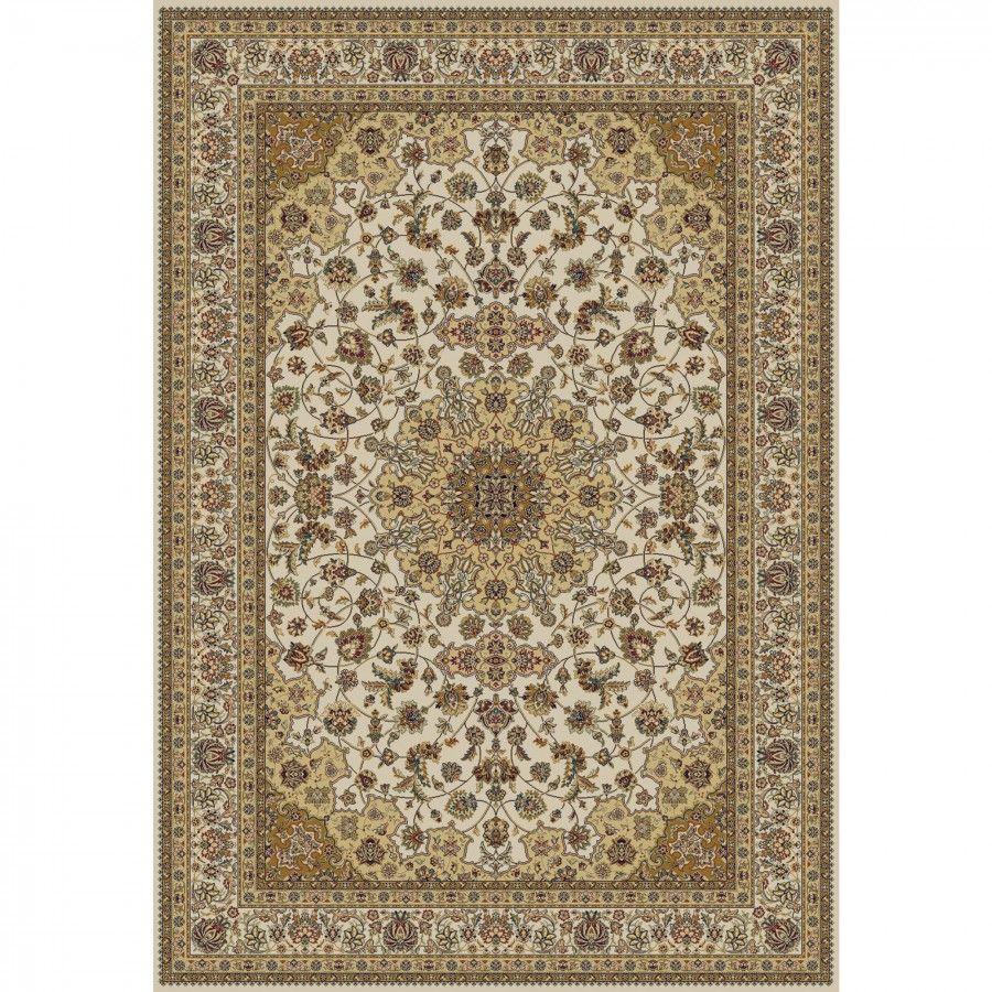 Oriental Infinity Ivory Isfahan Rug