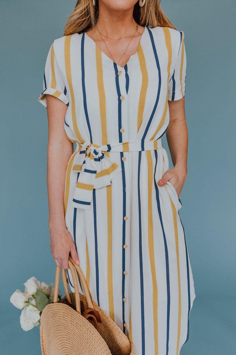 Kandy Stripe Midi Dress Ivy City Co Striped Midi Dress Nursing Friendly Dress Mommy And Me Dresses [ 1200 x 800 Pixel ]