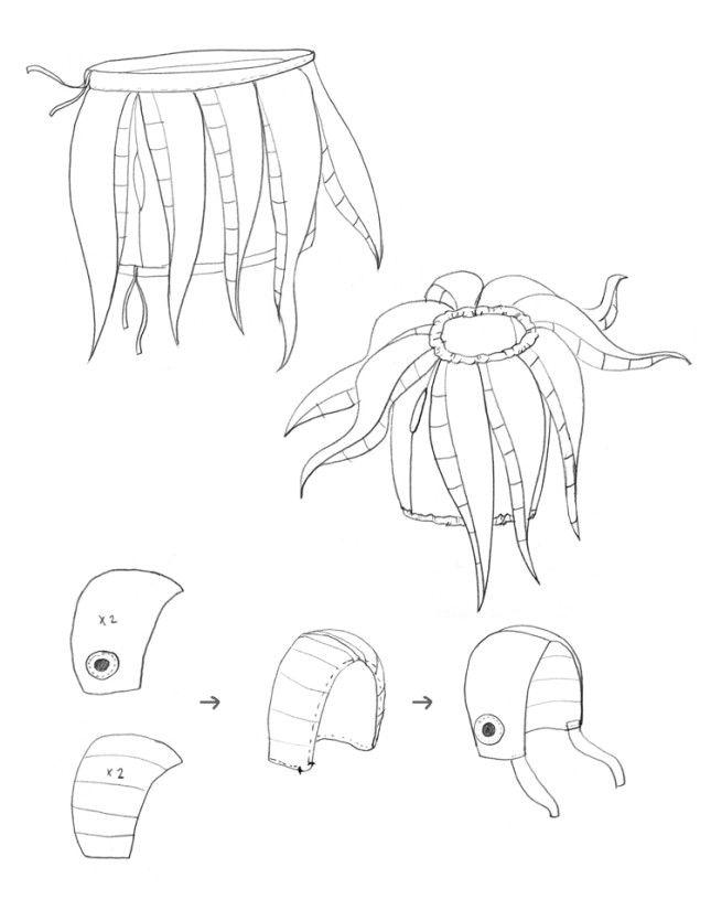 mermagoctopuscostumediy2  baby octopus costume diy