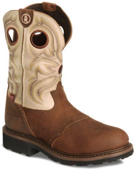 f012af59d8b Tony Lama 3R Pull-On Waterproof Work Boots - Steel Toe | Gear ...