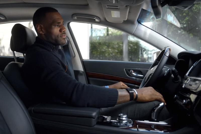 LeBron James swears he really drives a Kia Lebron james