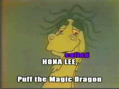 Puff the Magic Dragon - Peter, Paul & Mary (1965) (Lyrics