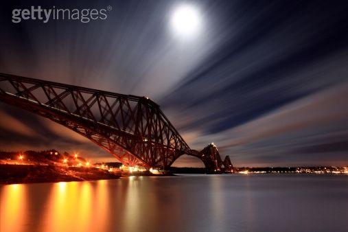 Forth rail bridge, Scotland