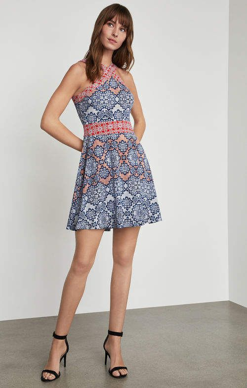 662b554389 BCBGMAXAZRIA Nadia Blossoms Print Dress in 2019 | Products | Dresses ...