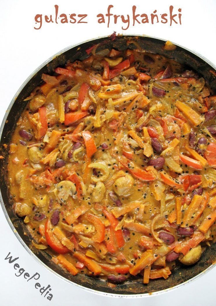 Gulasz Afrykanski Z Maslem Orzechowym Weganskie Mafe Wegepedia Recipe Vegetarian Recipes Cooking Recipes Veg Recipes