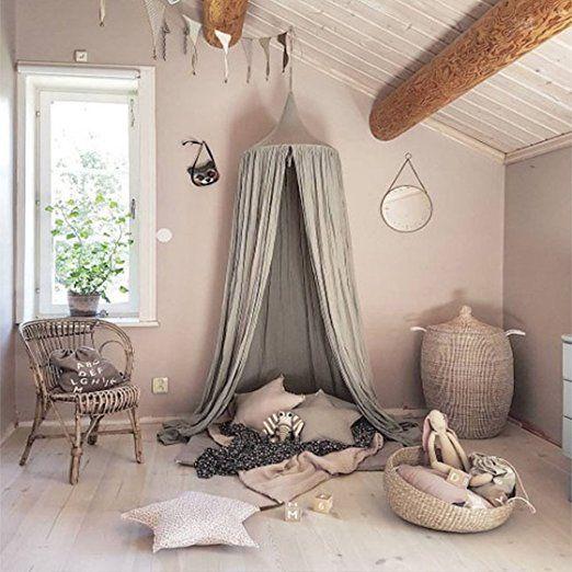 Baby Betthimmel Baldachin Baumwolle Dekoration fürs