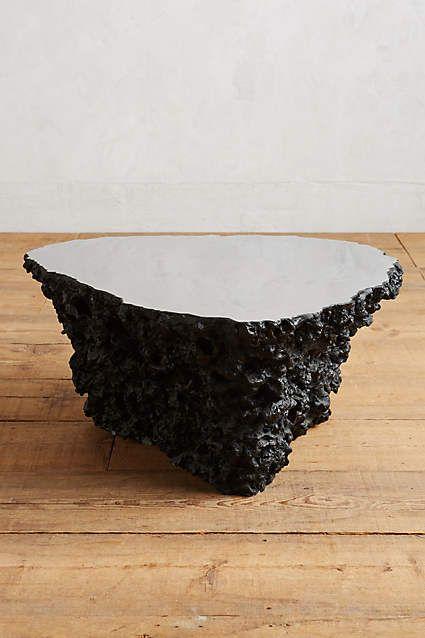 stone coffee table. Lava Stone Coffee Table - Anthropologie.com