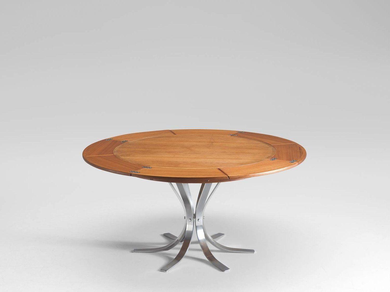 Flip Top In Teak Table By Dyrlund Teak Dining Room Table And  # Muebles Lola Mora