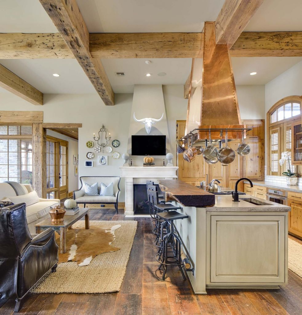River Cottage Kitchen: RED RIVER RESIDENCE - Farmer Payne Architects