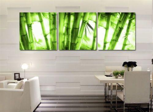 Familia moderna pintura decoraci n de inyecci n de tinta for Color bambu pintura