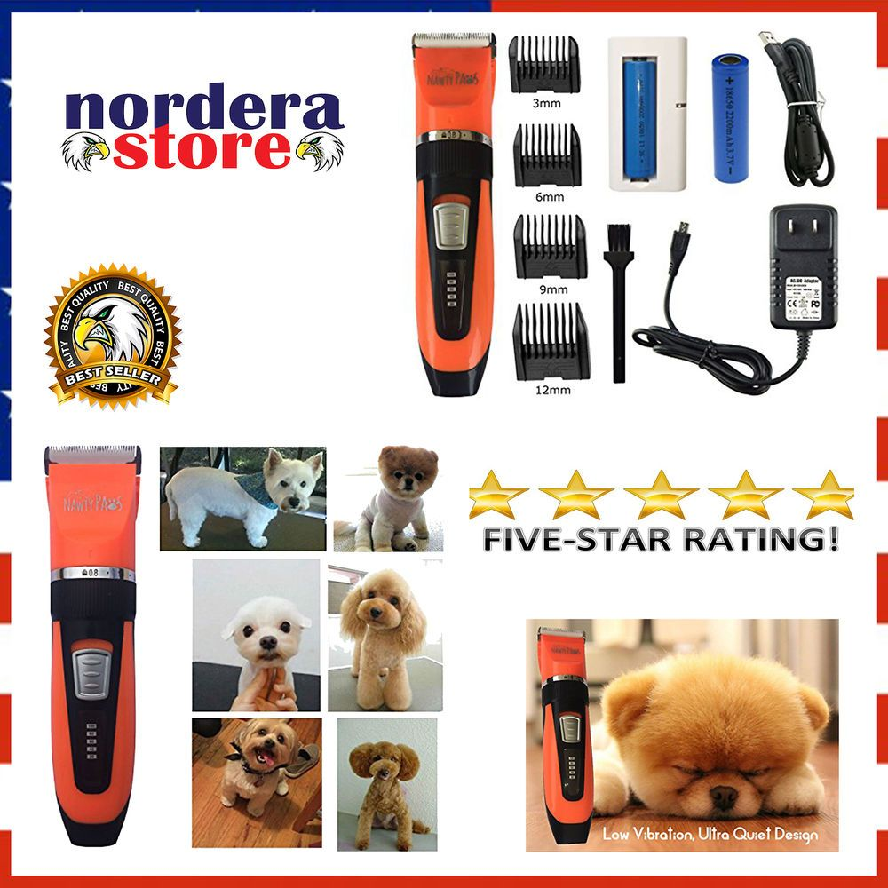 Pet Grooming Kit Hair Clipper Trimmer For Dogs Cats