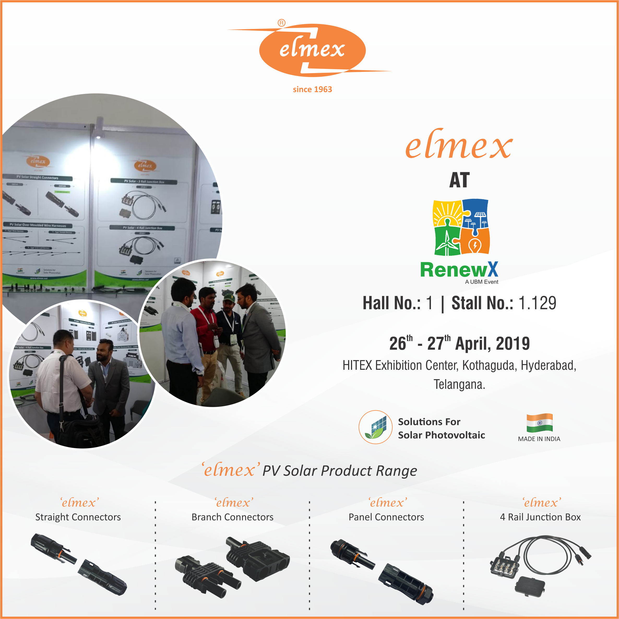 Team Elmex at RenewX 2019 #solarproducts #elmex ... on wire leads, wire cap, wire clothing, wire antenna, wire sleeve, wire lamp, wire ball, wire connector, wire holder, wire nut,