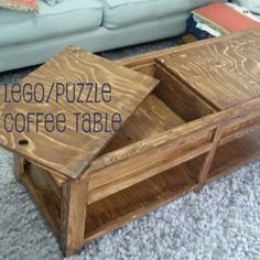 Diy Lego Puzzle Coffee Table Ana White Plans Using Kreg Jig