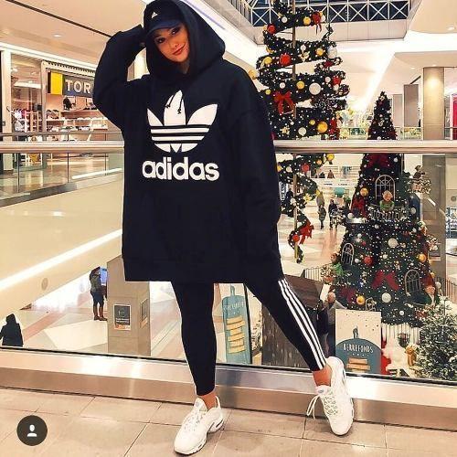 Sporty hijab with adidas sweatshirts Just Tren in 2020 ...