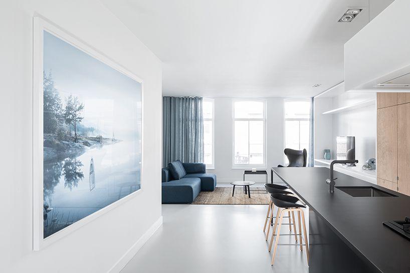I29 Transforms This Amsterdam Apartment Into A Spacious Loft Using