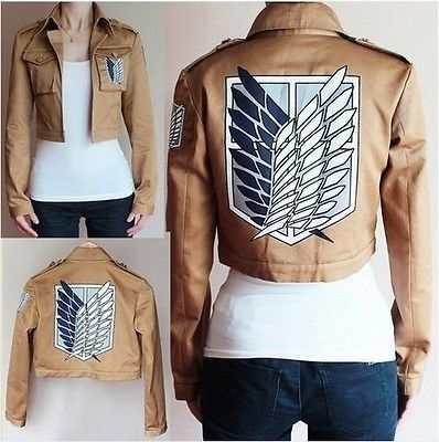 Attack on Titan Scouting Legion Jacket | i just want to wear the jacket.... i would wear it to school and watch all the people not know...