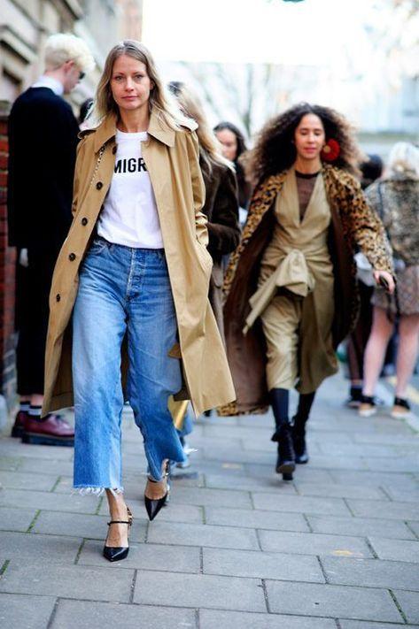 22 idées de tenues avec ton trench-coat !
