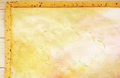 - - - poppyshome - - - - - - - poppys.fi - - - - - -: Kevään herääminen - seinävaate käsin painetuista kankaista