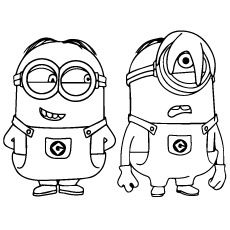 Top 35 Despicable Me 2 Coloring Pages For Your Naughty