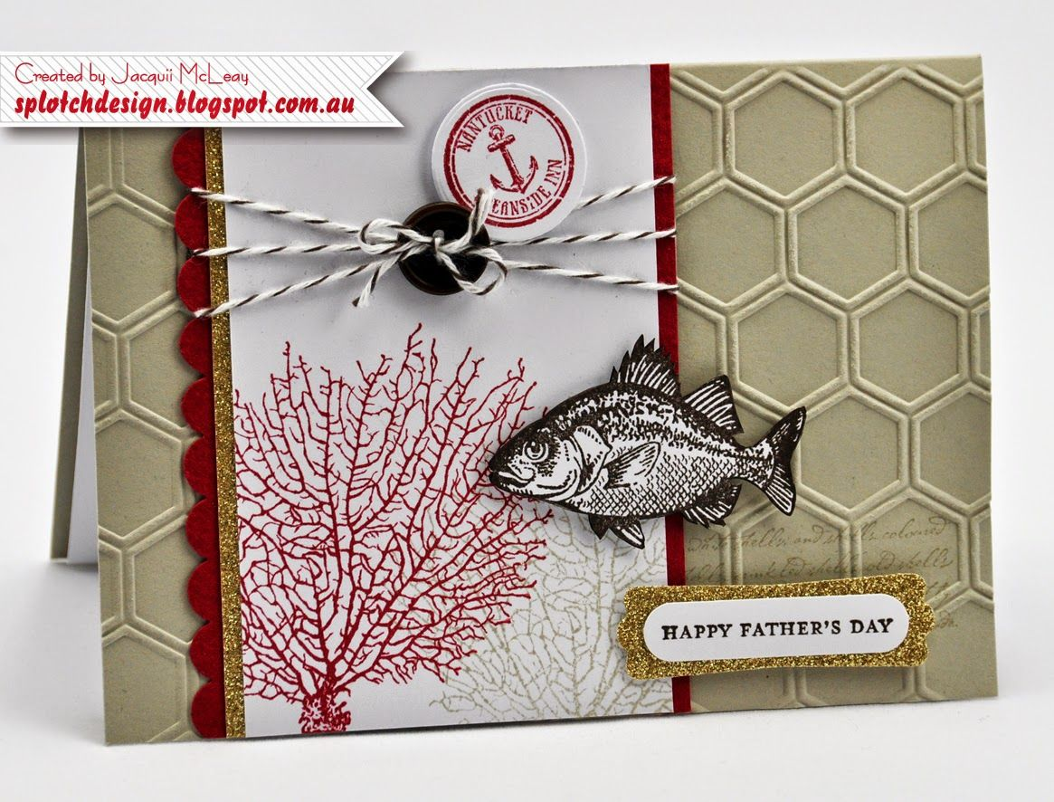 Splotch Design Jacquii Mcleay Independent Stampin Up