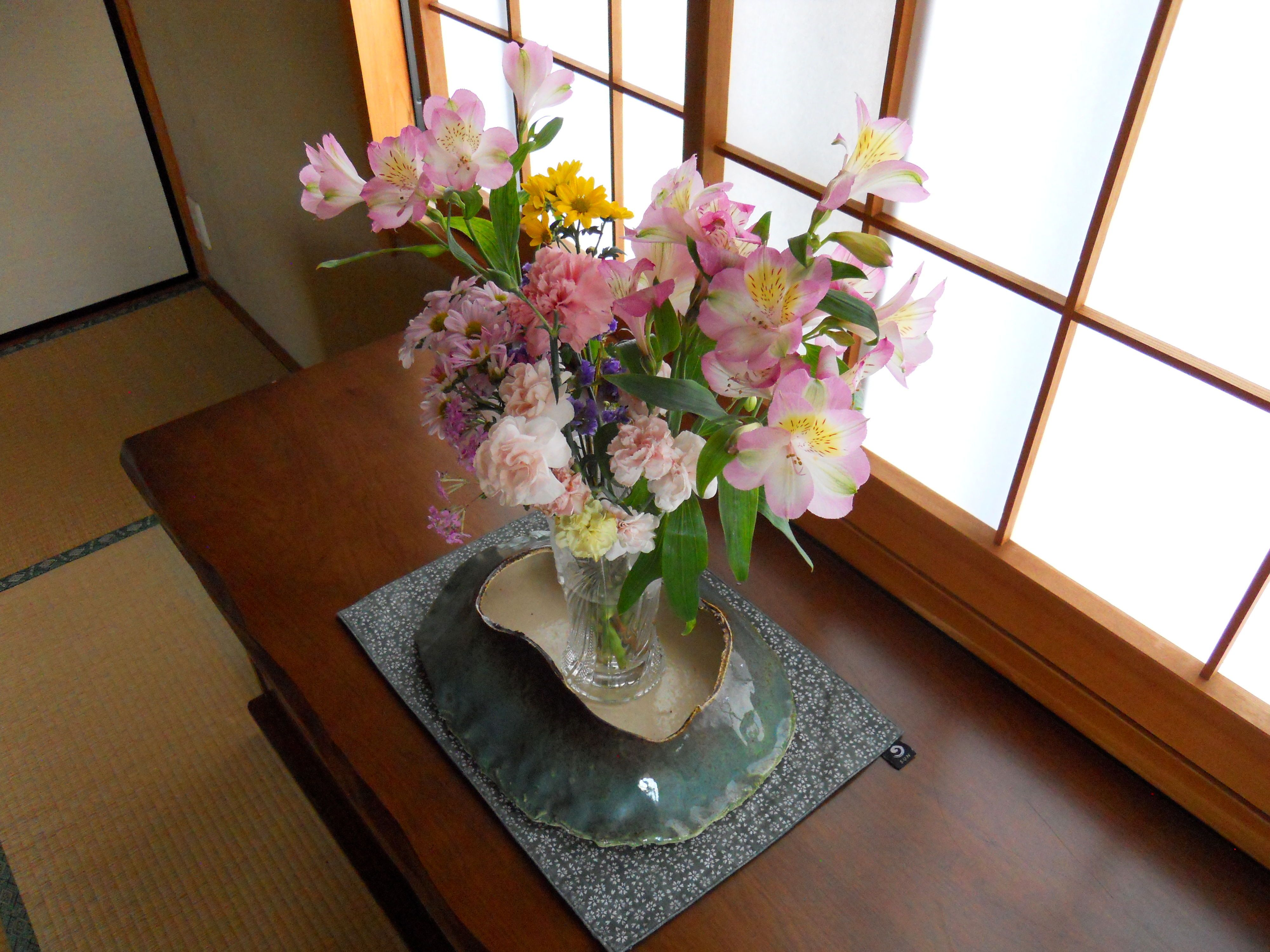 Flowers in the room