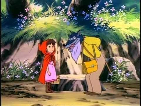 Le petit chaperon rouge dessin anim en francais youtube les contes et histoires animation - Dessin le petit chaperon rouge ...