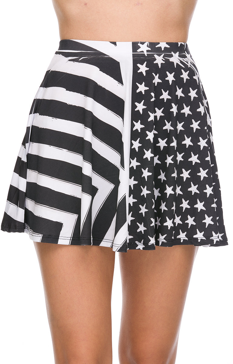 #shopfe.net               #Skirt                    #Foreign #Exchange #WOMEN #BLACK #WHITE #ABSTRACT #FLAG #SKATER #SKIRT        Foreign Exchange :: WOMEN :: BLACK & WHITE ABSTRACT FLAG SKATER SKIRT                                   http://www.seapai.com/product.aspx?PID=761319