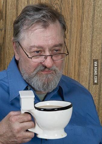 That coffee tastes like sh*t
