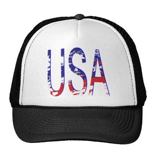 05e56f8b0d6ef USA Two-tone Mesh Hat Logos Para Gorras