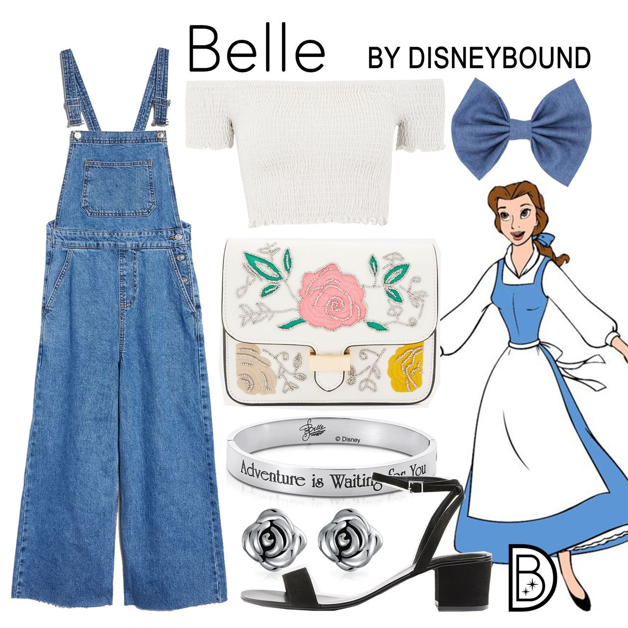Disney Bound Belle Beauty And The Beast Disney