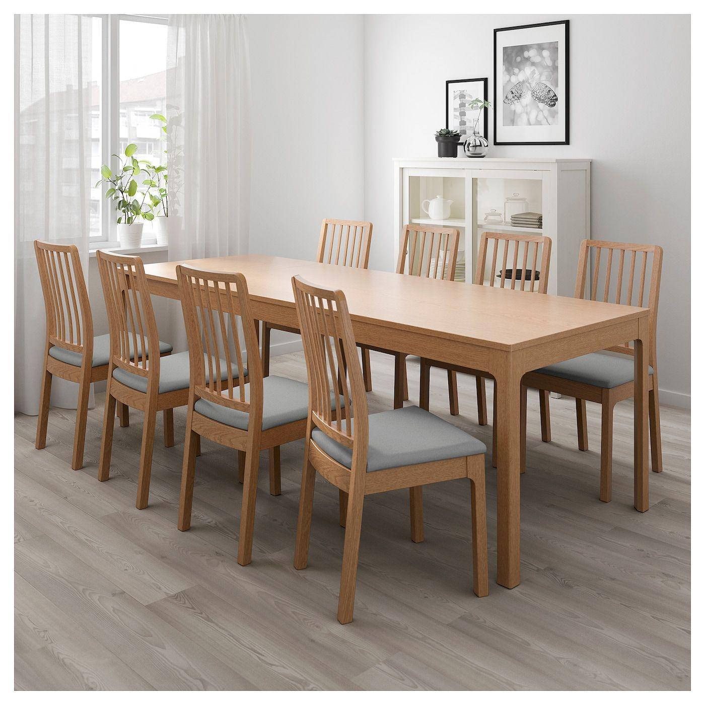 ekedalen table extensible chene 180