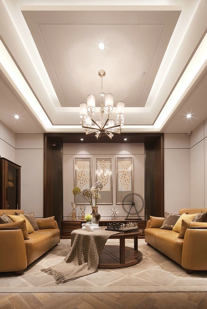 False Ceiling Designs For Living Room In Flats: Pin By Khushi Jain On Wall Ideas (With Images)