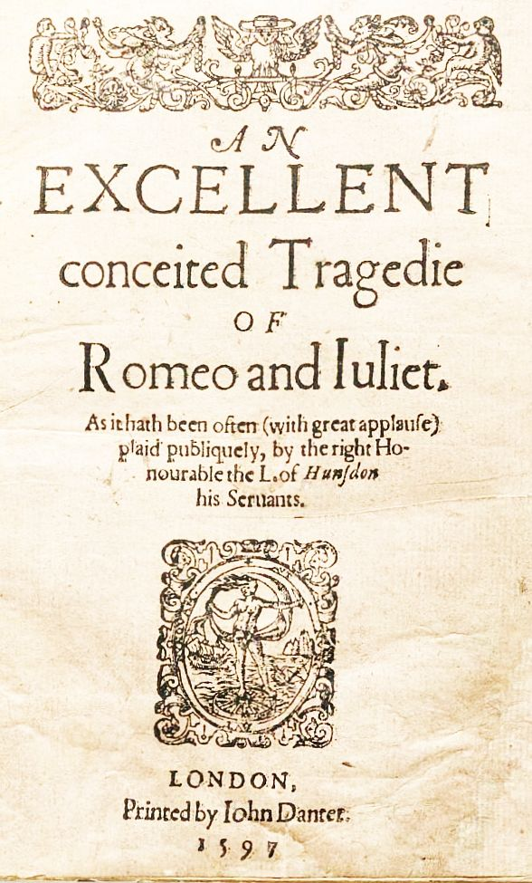 brief summary of romeo and juliet by william shakespeare