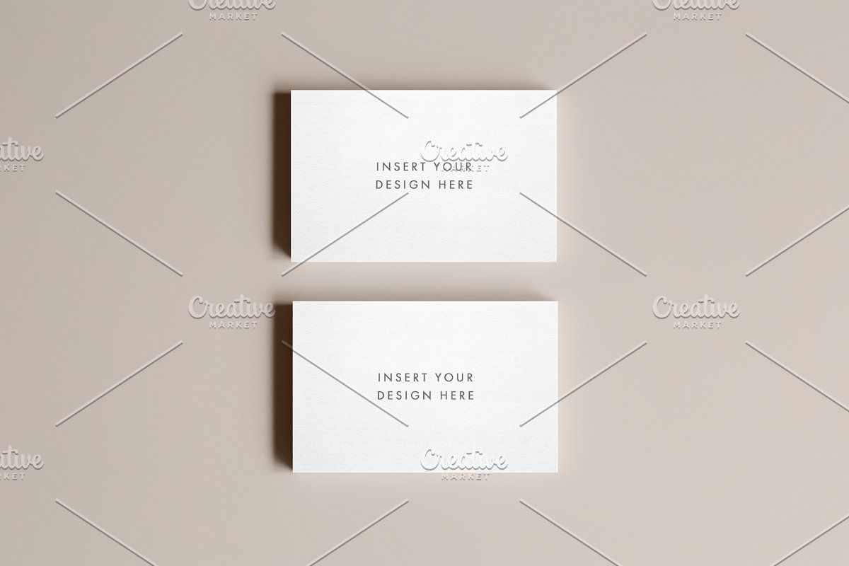 Business Card Photo Mockup Business Card Mock Up Photo Business Cards Business Card Design