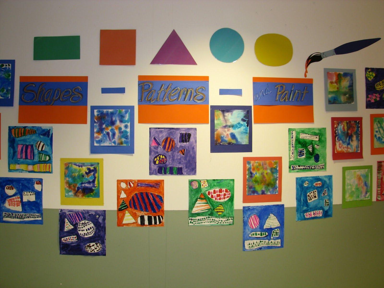 Kindergarten Shapes And Patterns