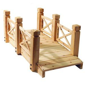 Diy Small Wooden Bridge Google Search Wooden Bridge Garden