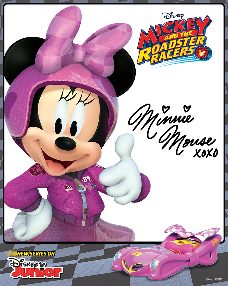 Mickey And The Roadster Racers Minnie Is Ready To Rock Her