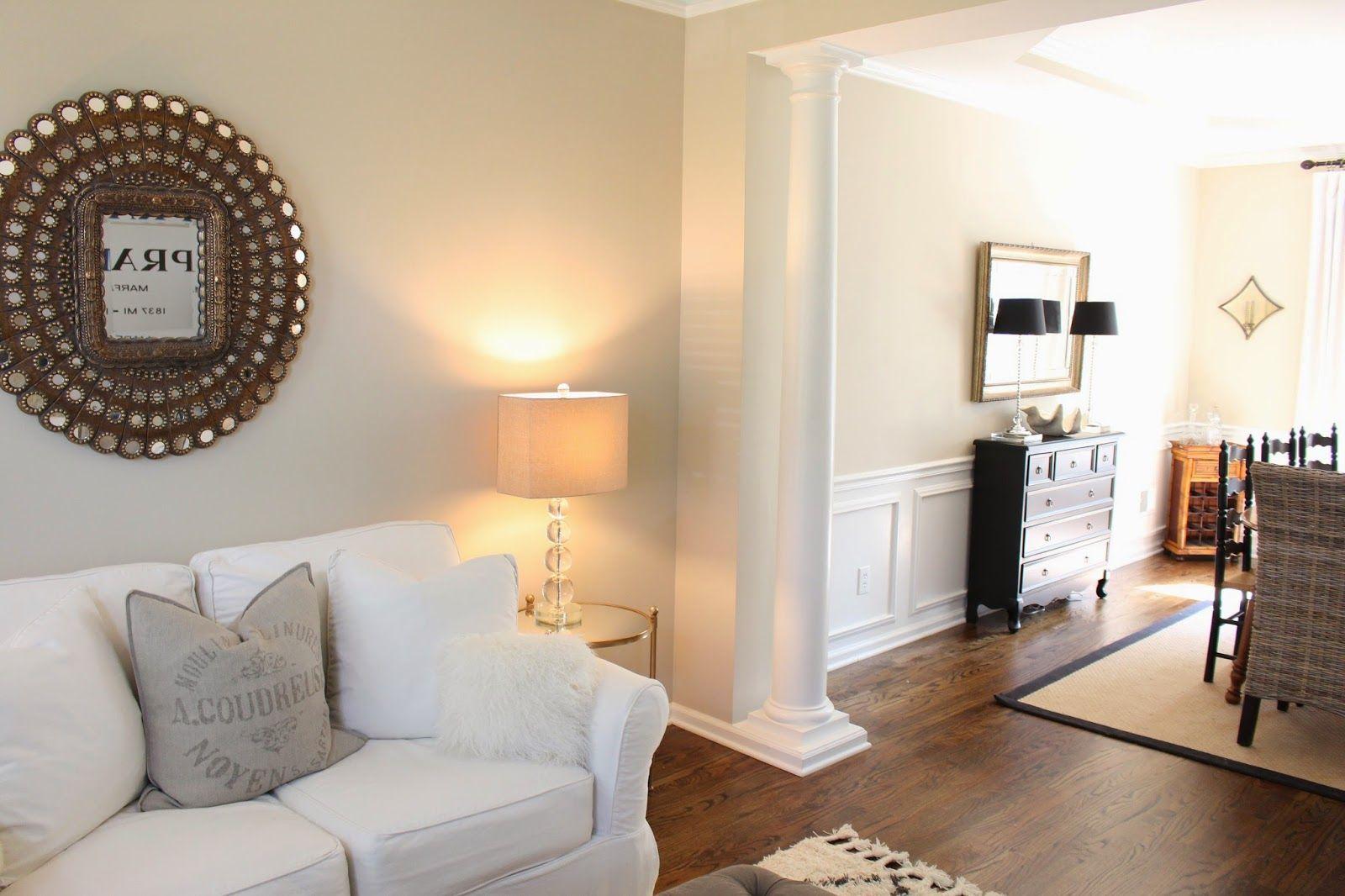 Benjamin moore clay beige kind if a greige dark cream - What type of paint for living room walls ...