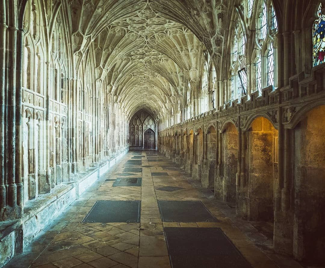 Gloucester Cathedral England Harry Potter Film Location Filming Locations Gloucester Cathedral England Travel Guide