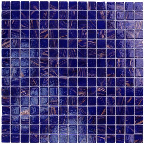 AIM Cobalt Blue Copper Mosaic Tile Blend 1 sheet I love cobalt