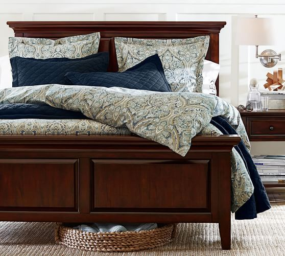Hudson Bed Potterybarn Paisley Bedding Bedroom Decor Barn