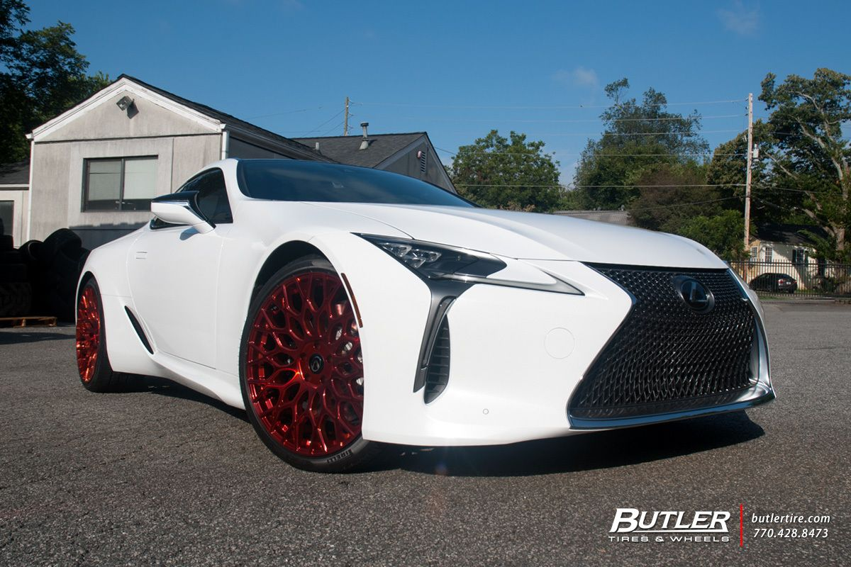 lexus lc500 with 22in tsw oslo wheels butler tire luxury. Black Bedroom Furniture Sets. Home Design Ideas