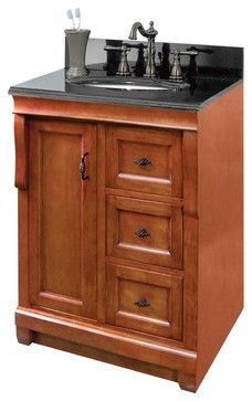Foremost Naca2418d Naples 24 X 18 Vanity Cabinet Only In Warm